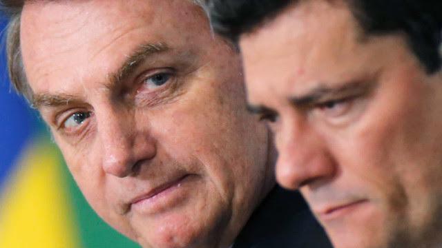 Bolsonaro avalia divulgar áudios e mensagens de conversas com Moro