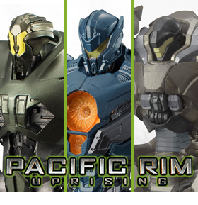 BANDAI JAPAN PACIFIC RIM: UPRISING FIGURES