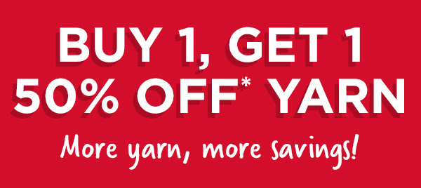 Buy 1 Get 1 50% OFF Yarn