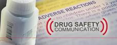 Drug Safety Communication banner