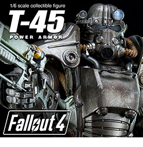 1/6 FALLOUT 4 T-45 POWER ARMOR