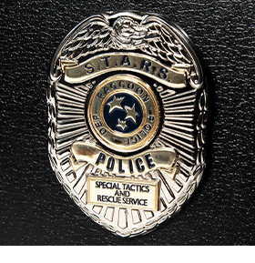 Resident Evil 2 S.T.A.R.S. Badge Limited Edition Collector Pin