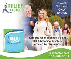 Relief Factor - 3-Week QuickStart [438564]