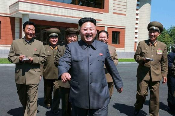 North Korean leader Kim Jong Un visits the October 8 Factory in this undated photo released by North Korea's Korean Central News Agency (KCNA) in Pyongyang August 31, 2014. REUTERS/KCNA