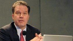 Greg Burke, Director de la Oficina de Prensa de la Santa Sede