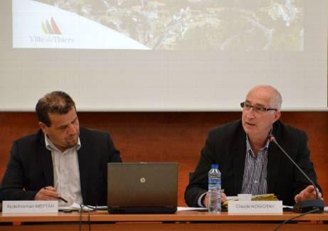 Aux côtés du premier adjoint Abdelhraman Meftah, Claude Nowotny a mené son premier Conseil municipal. - Arthur Cesbron