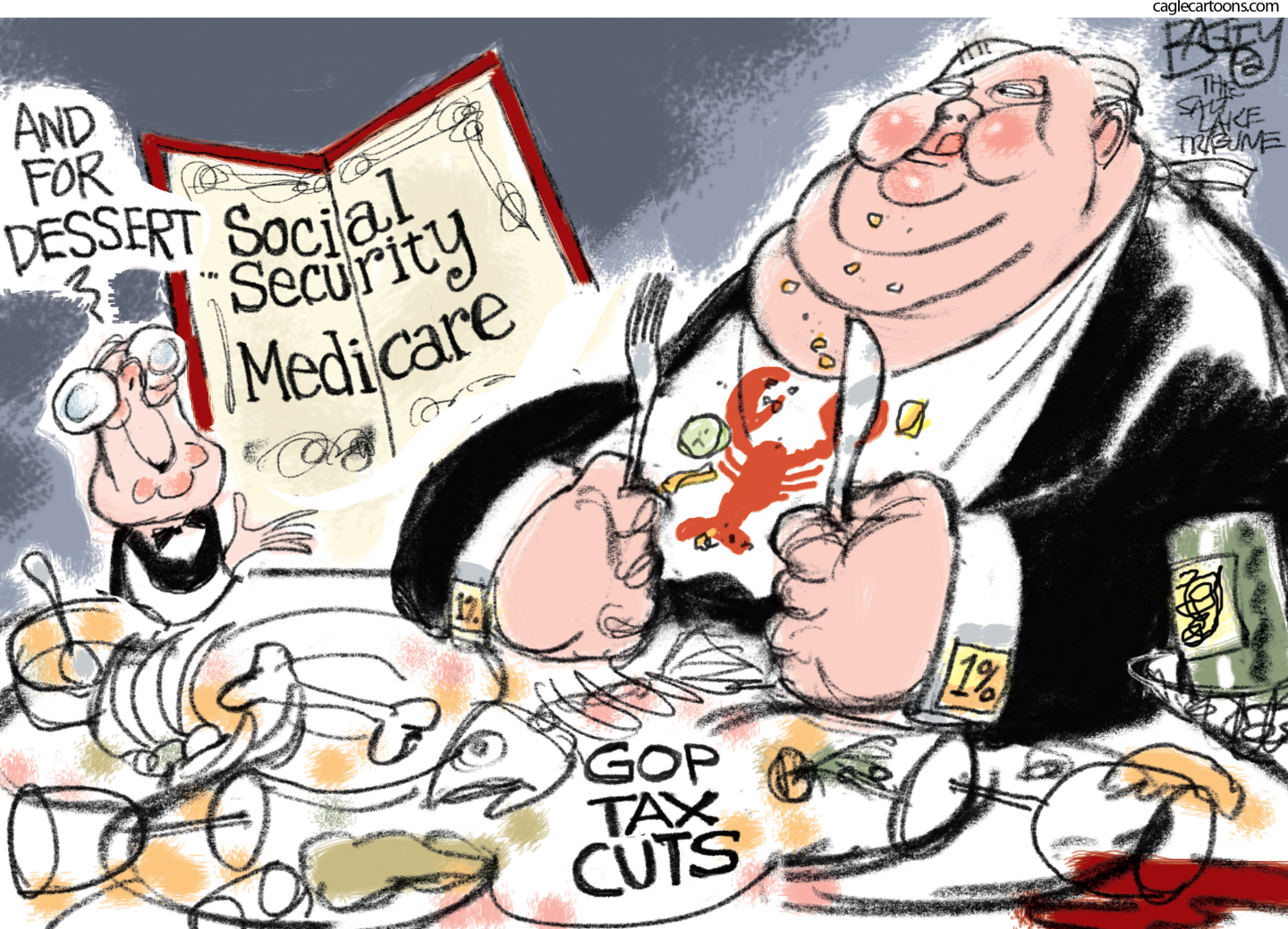 Republicans reject Federal healthcare funding, close rural hospitals and deny their constituents affordable medical care.