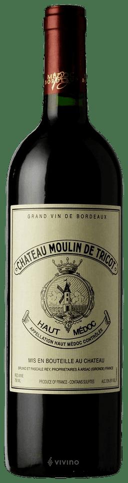 Château Moulin de Tricot Haut-Médoc | Wine Info