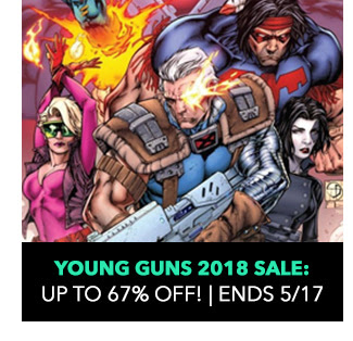 Young Guns 2018: up to 67% off! Sale ends 5/17.