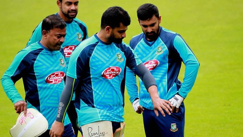 Tamim Iqbal injured his left wrist during the practice session