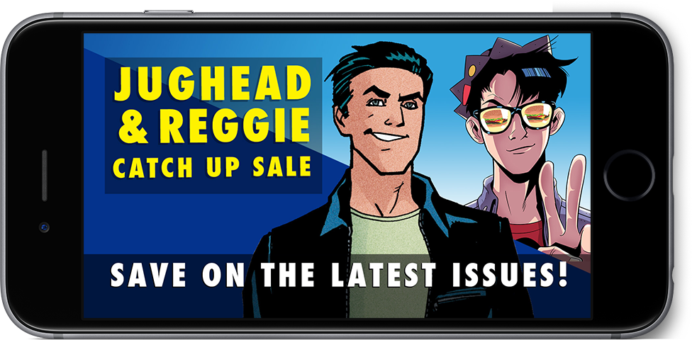 Jughead & Reggie Catch Up Sale