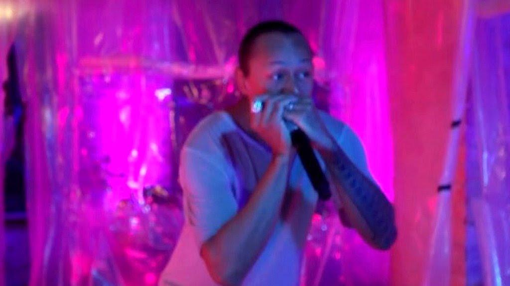 Coronavirus lockdown: The harmonica player giving cheer to neighbours