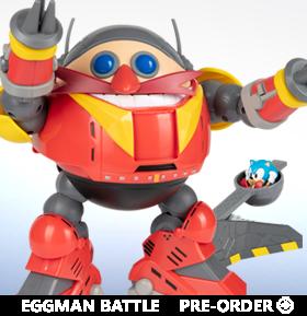 Sonic The Hedgehog Eggman Battle Set