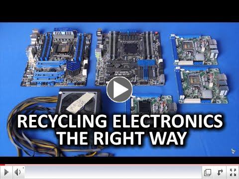 Why Recycle Electronics The Right Way
