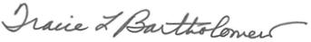Bartholomew signature