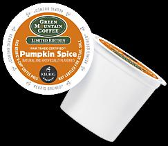 Pumpkin Spice Keurig Kcup coffee