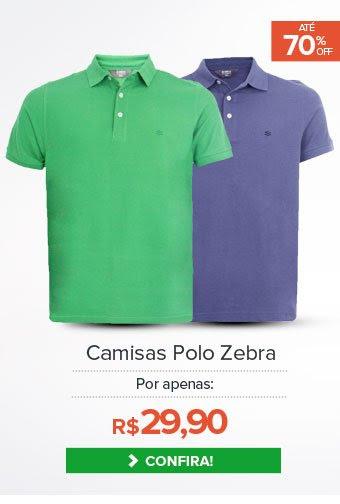 Camisas Polos Zebra