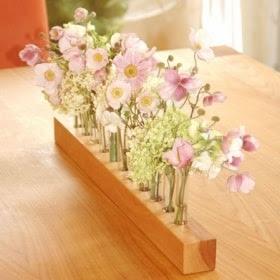 wood vase for wedding romantic - 2 -