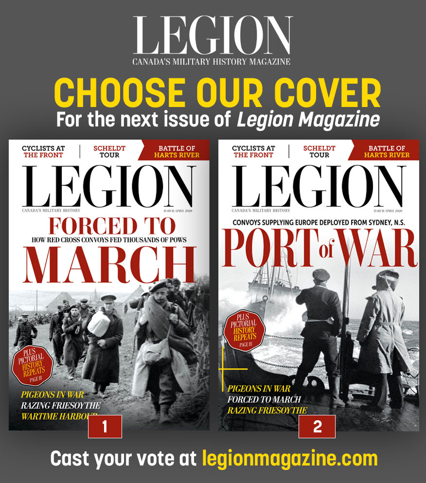 Choose our cover for the next Legion Magazine!