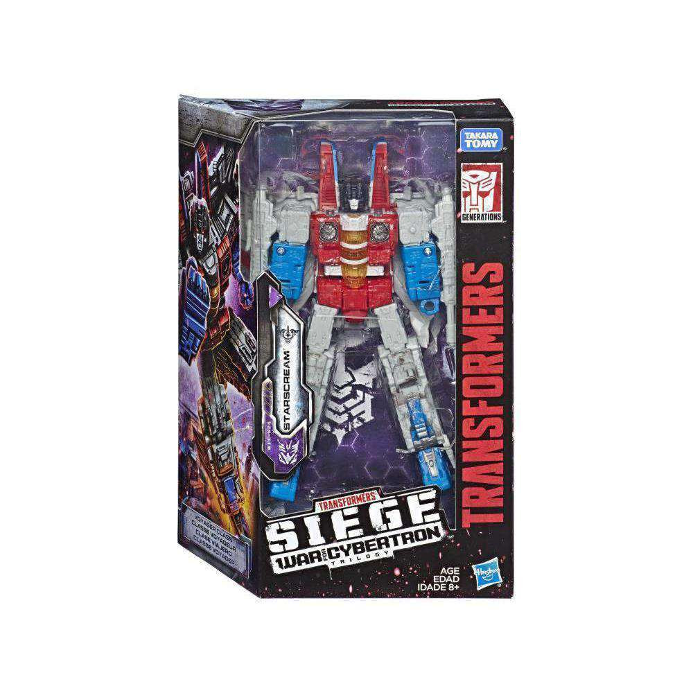 Image of Transformers War for Cybertron: Siege Voyager Wave 2 - Starscream - FEBRUARY 2019