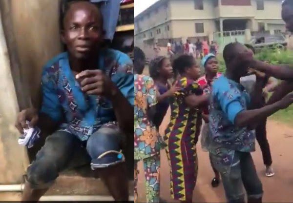 Man Nabbed While Trying To Steal Panties From A FUTA Student's Apartment [Video]