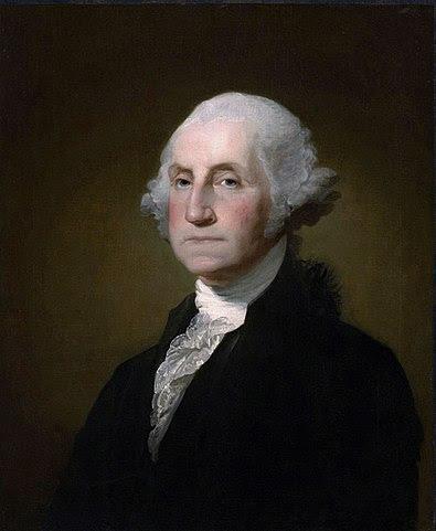 """George Washington khi nhậm chức Tổng thống đầu tiên của nước Mỹ, ông đã đọc lời tuyên thệ được viết trong Điều 1, khoản 2 ghi trong Hiến pháp và ông đã thêm cụm từ cuối sau khi tuyên thệ: """"Xin Chúa giúp con""""."""