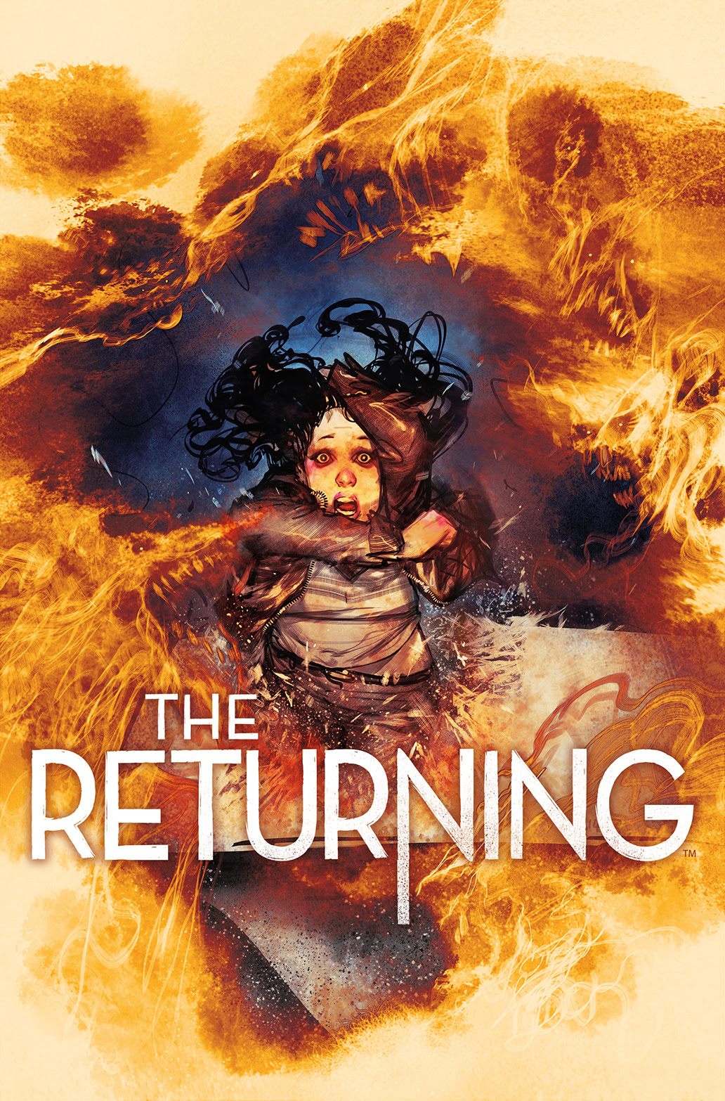 THE RETURNING #3 Cover by Frazer Irving