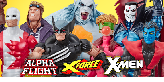 X-Force Marvel Legends Wave 1