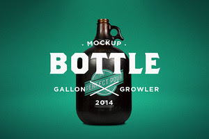 Gallon Growler Mock-Up