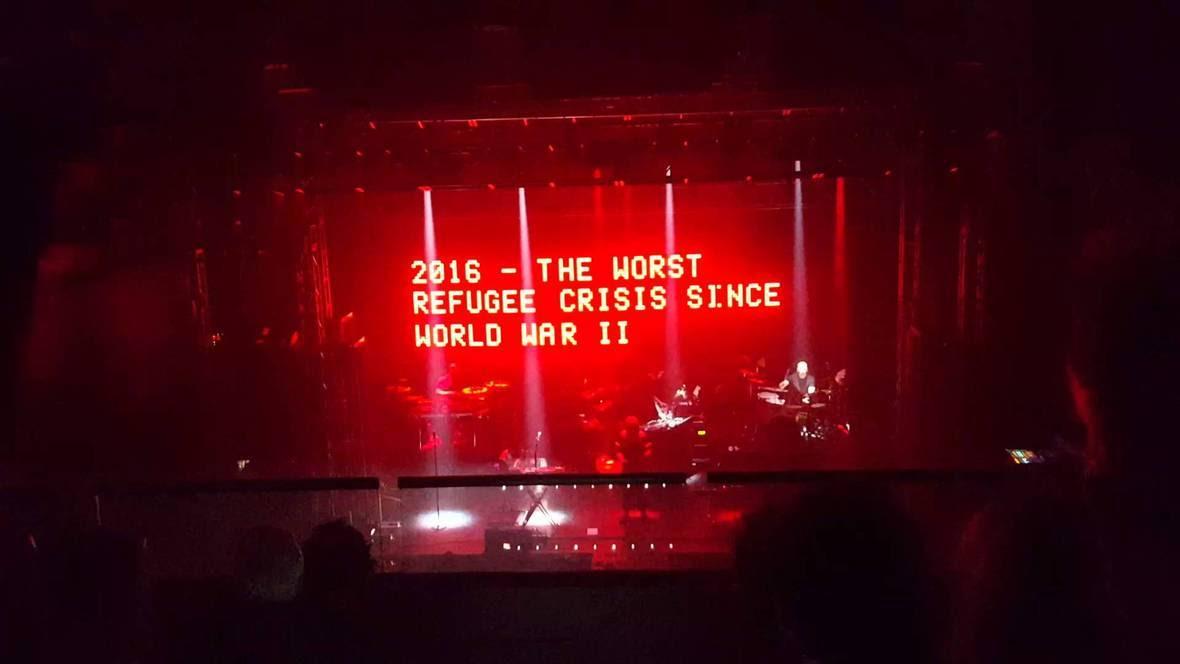 Massive Attack koncert 2016