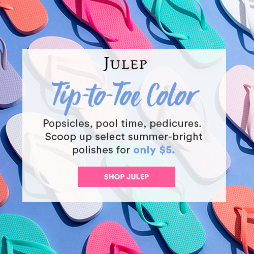 New Julep Sale – SELECT SUMMER POLISHES $5 EACH