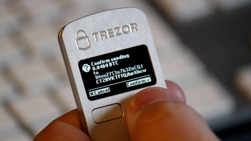 Resultado de imagen de trezor wallet hacked
