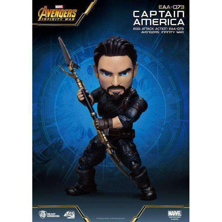 Image of Avengers: Infinity War Egg Attack Action EAA-073 Captain America PX Previews Exclusive - NOVEMBER 2019