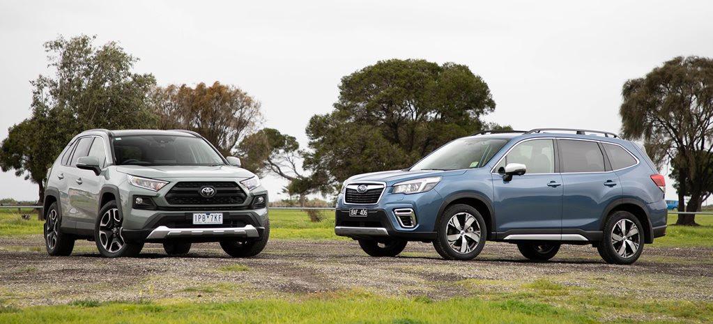 Toyota RAV4 Edge vs Subaru Forester 2.5i-S comparison review