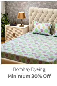 Bombay Dyeing Min.30% Off