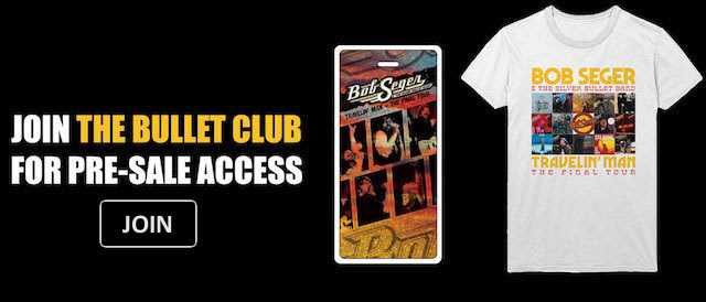 Join the Bullet Club at https://bulletclub.bobseger.com/subscribe