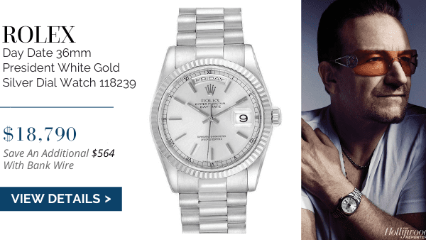 Day Date White Gold