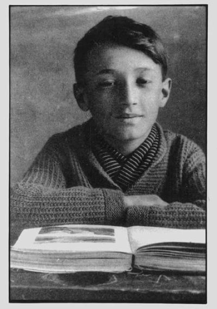 Джанни Родари в детстве