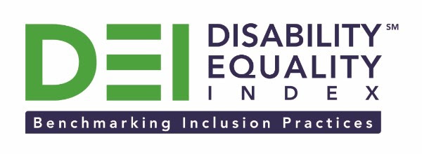 DEI - Disability Equality Index logo