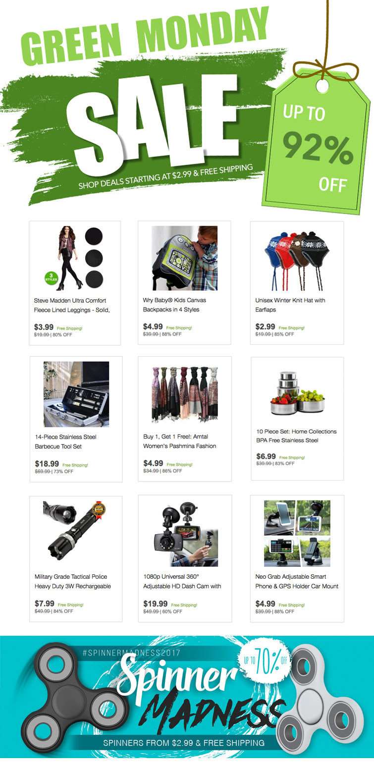 GearXS GREEN MONDAY Mega Deals...