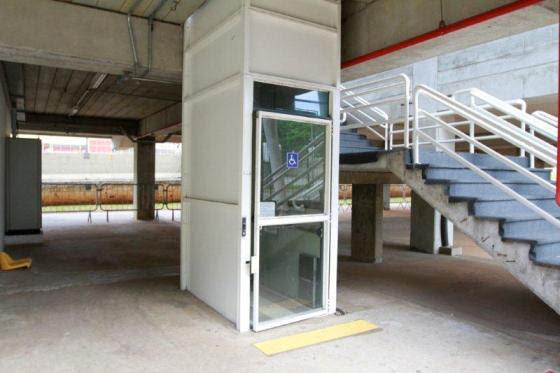 Elevadores fixos também integram os itens de acessibilidade de Interlagos.