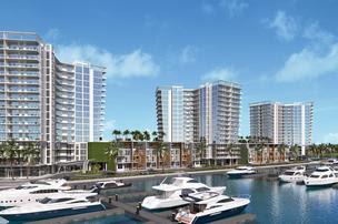 Marina Pointe rendering, January 2021