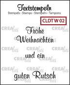 Deutsche Textstempeln W 02