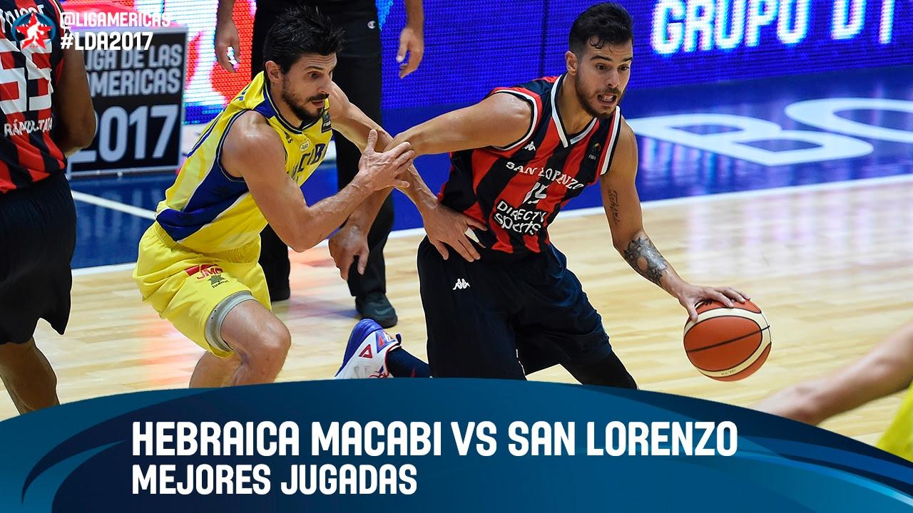 Hebraica Macabi (URU) vs San Lorenzo (ARG) - Grupo C - DIRECTV Liga de las Americas 2017