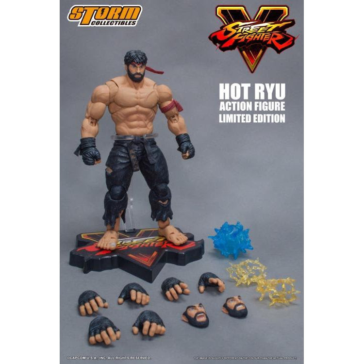 Image of Street Fighter V Hot Ryu (Black Pants Ver.) 1/12 Scale Figure NYCC 2017 Exclusive