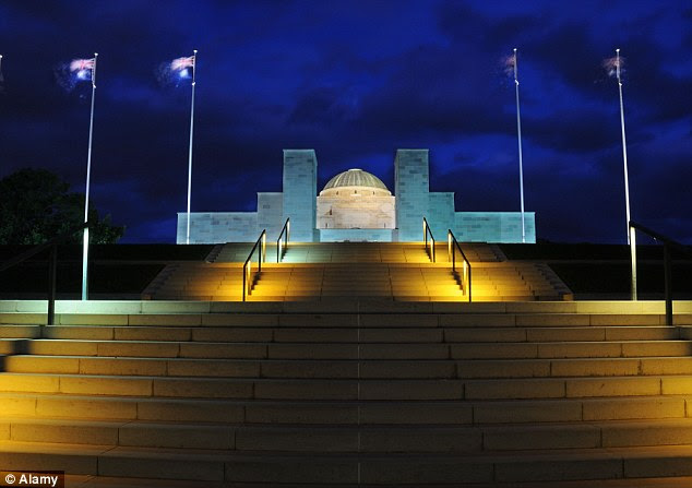 The war museum in Canberra, it was revealed recently, was Australia's number one tourist attraction