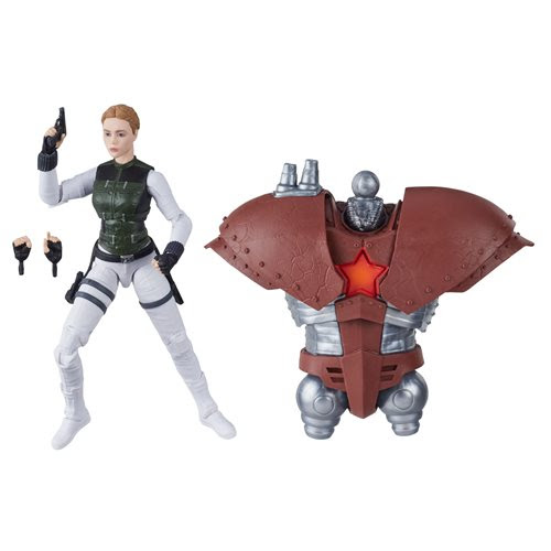 Image of Black Widow Marvel Legends 6-Inch Yelena Bolova Action Figure (Crimson Dynamo BAF)- APRIL 2020