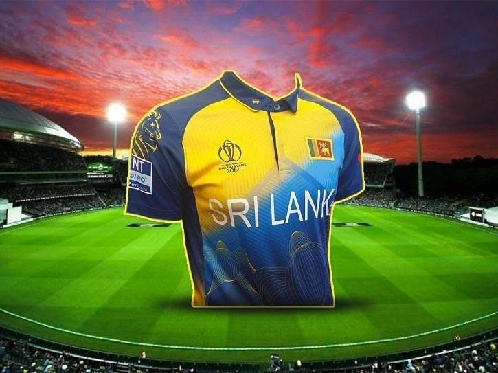 Sri Lanka 2019 World Cup jersey