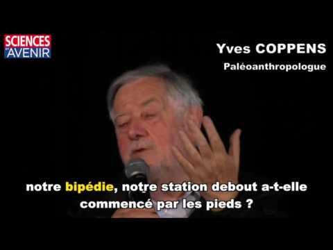"""Yves Coppens : """"La bipédie a commencé par le crâne !"""""""