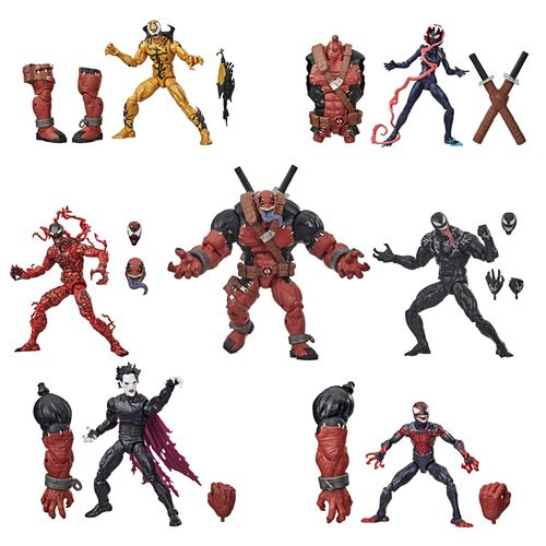 Image of Venom Marvel Legends 6-Inch Action Figures Wave 1 Set of 6 - NOVEMBER 2020